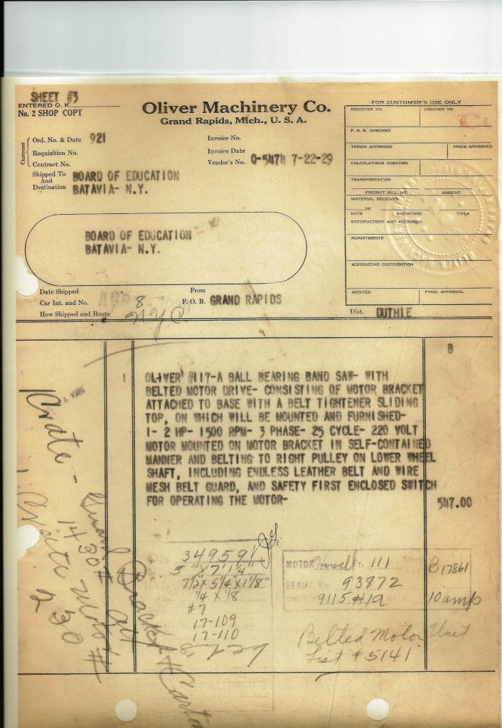 1927 Oliver 117-A Bandsaw Restoration.....-oliver-117a-birth-cirtificate.jpg