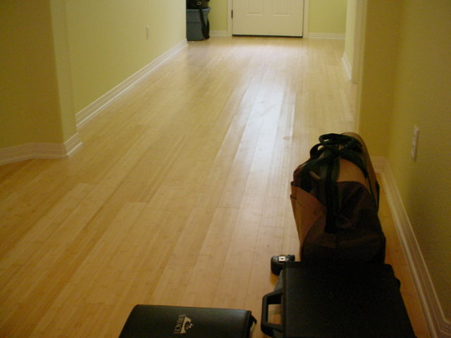 Solid Plank Bamboo Flooring Over Cement Slab Flooring Contractor