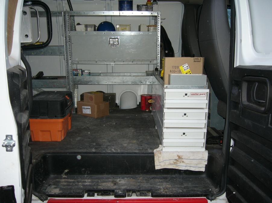 Cargo Van Set Up Vehicles Contractor Talk