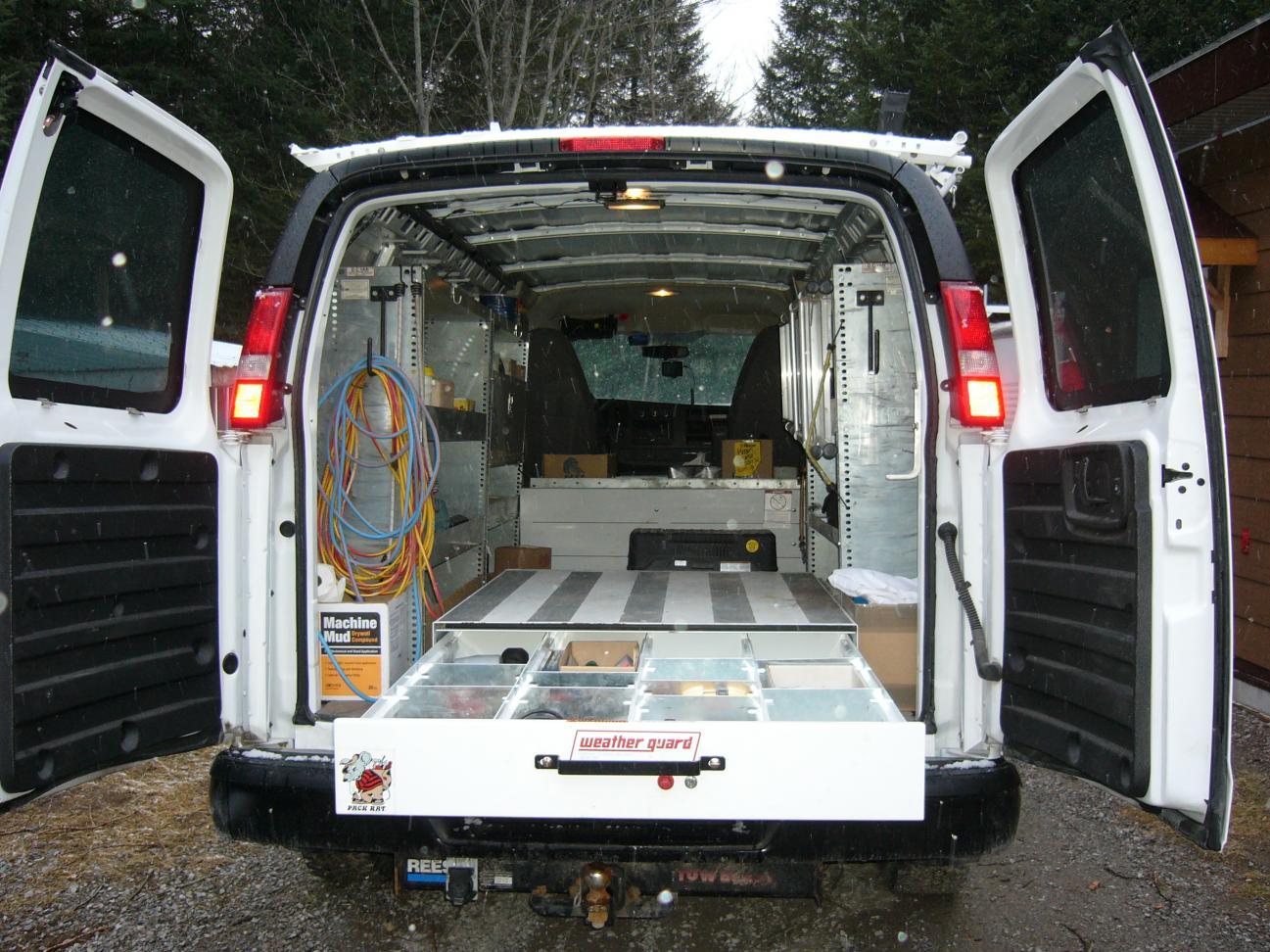 Van Storage Pic S Please Vehicles Contractor Talk