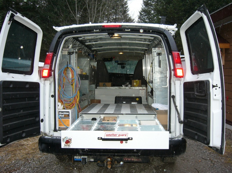 Cargo Van Set Up Vehicles Contractor Talk