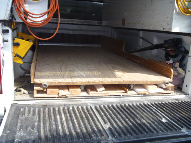 Homemade Truck Bed Slide Tools Amp Equipment Contractor