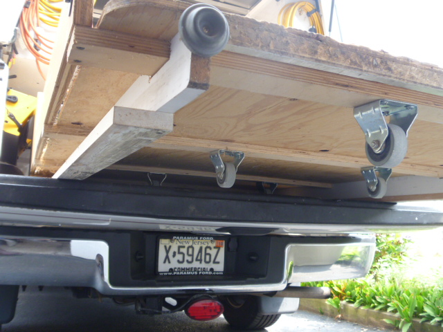 Homemade Truck Bed Slide Tools Equipment Contractor Talk