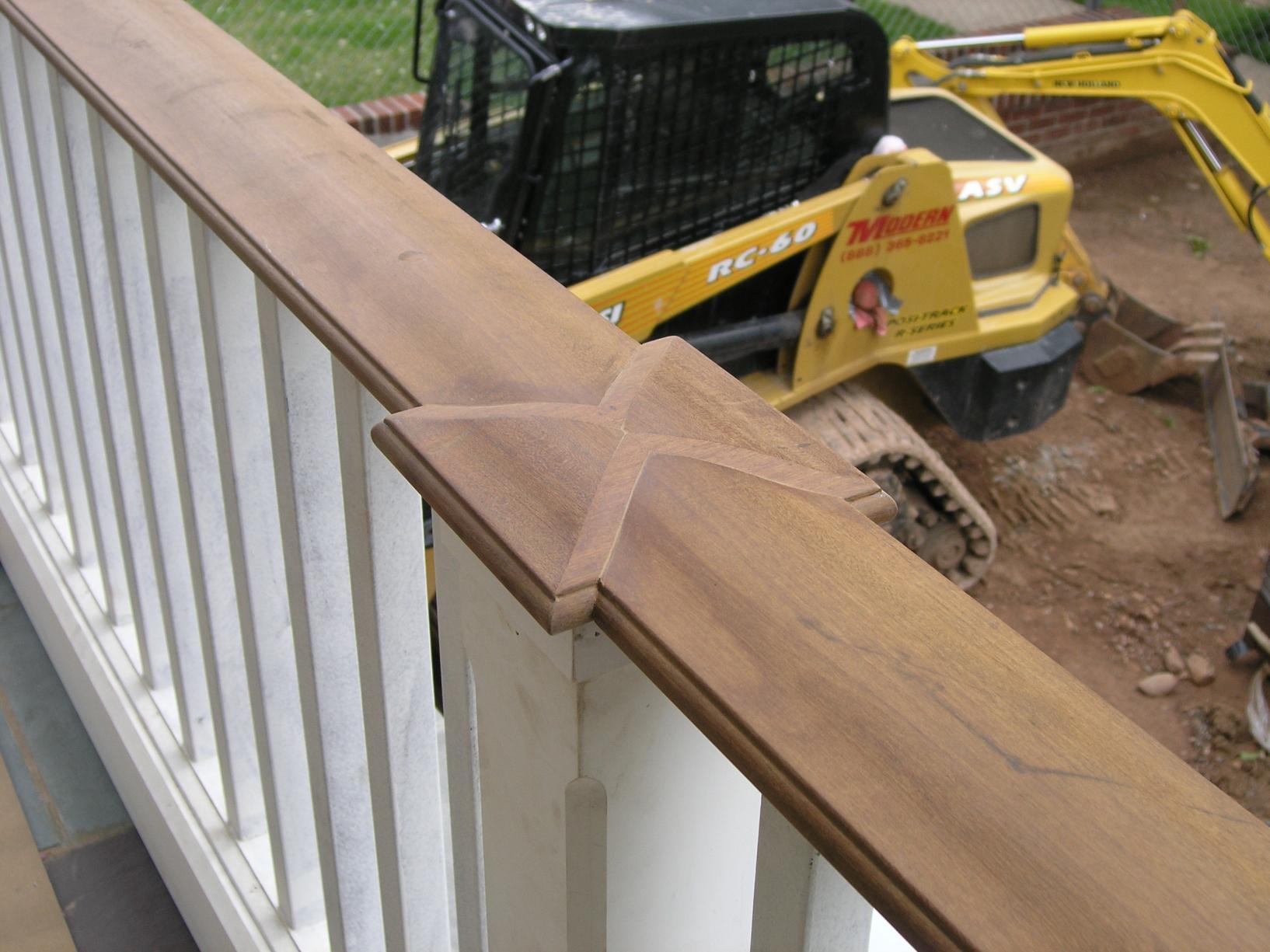 Wood Decking Wood Decking Railings