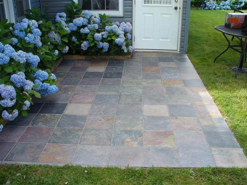 Exterior Slab With Slate - Tiling - Contractor Talk