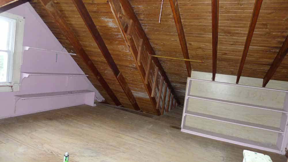 Vapor Barrier For Finishing Old Attic Insulation
