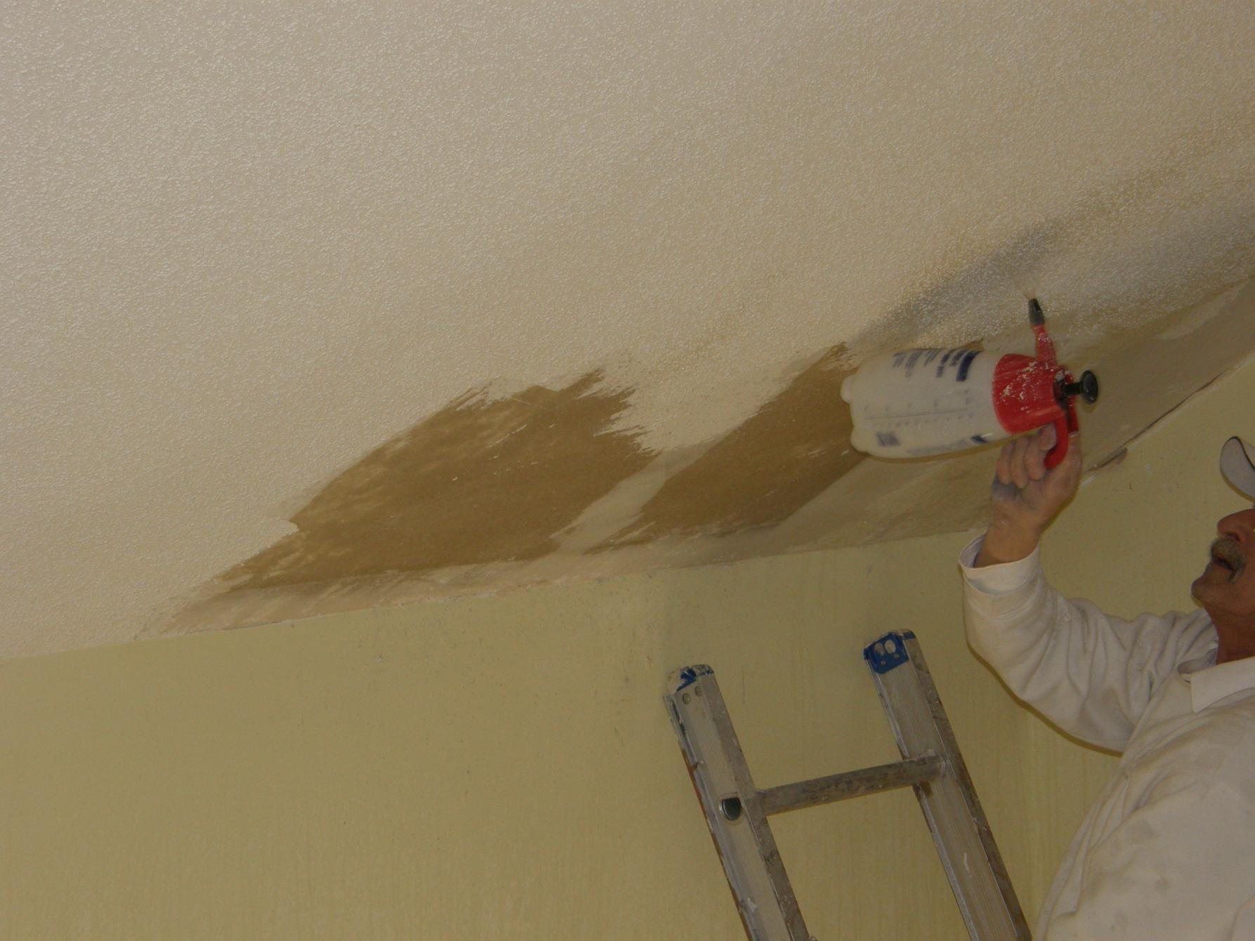 Popcorn Ceiling Removal Laminate Ceiling With 3 8 Drywall