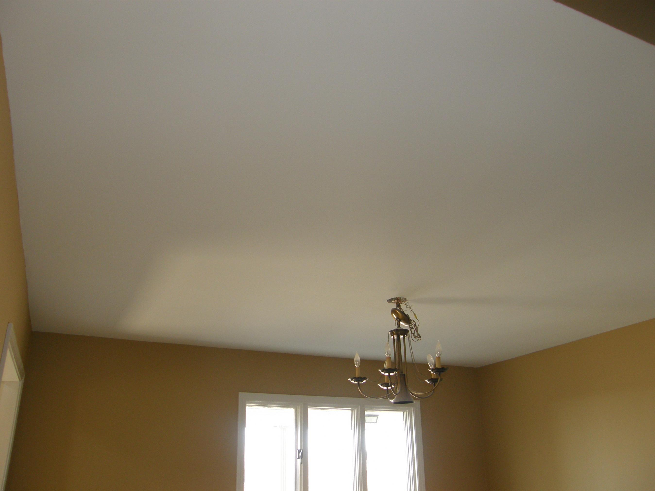Popcorn Ceiling Removal / Laminate Ceiling With 3/8? P2070043