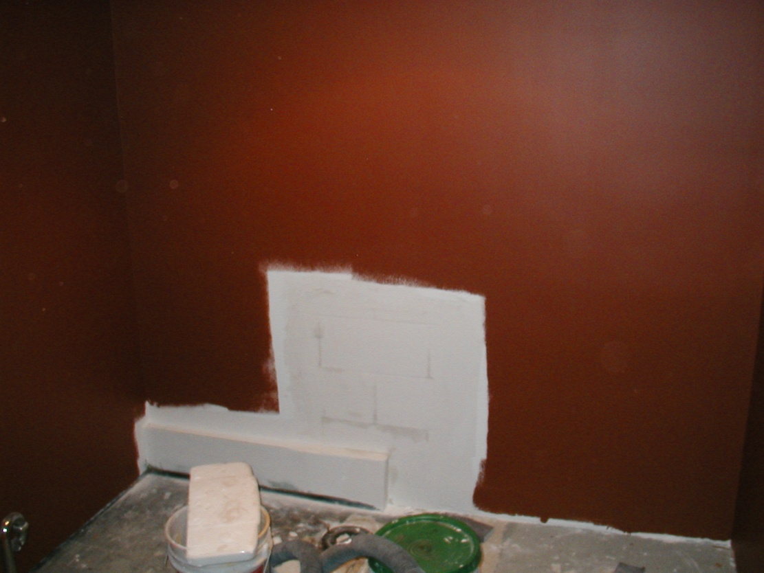 Skim Coating Old Painted Block Walls Drywall