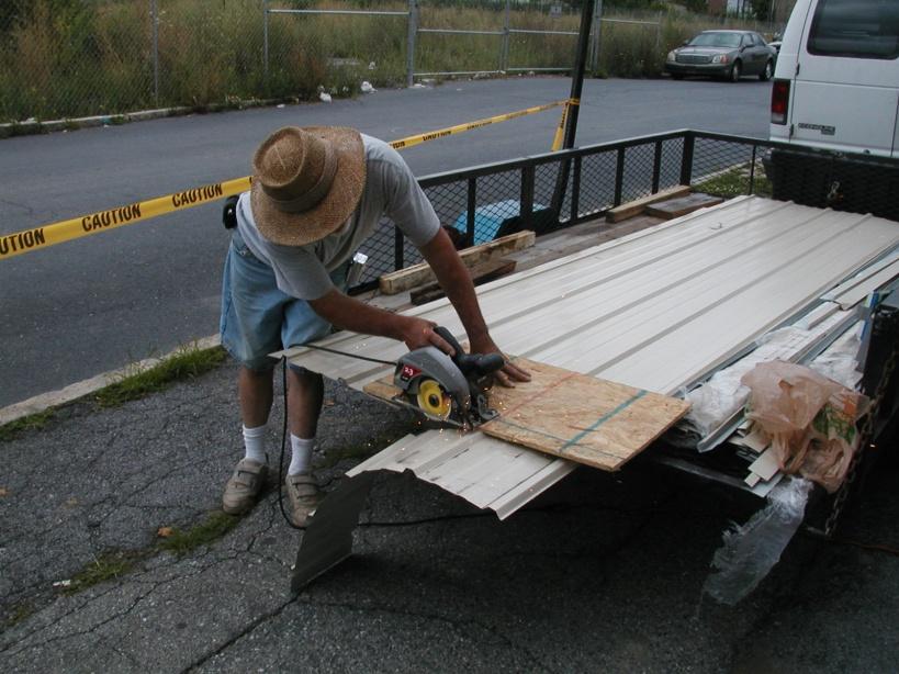 Cutting Steel Siding - Windows, Siding and Doors - Contractor Talk
