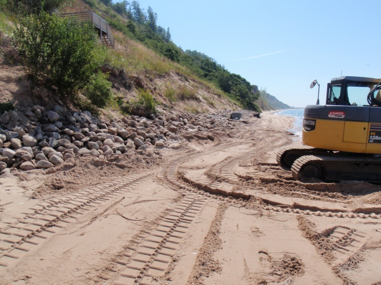 an overview of the erosion of barriers and the concept of barrier protection Erosion control is the practice of preventing or the controls often involve the creation of a physical barrier us environmental protection agency.