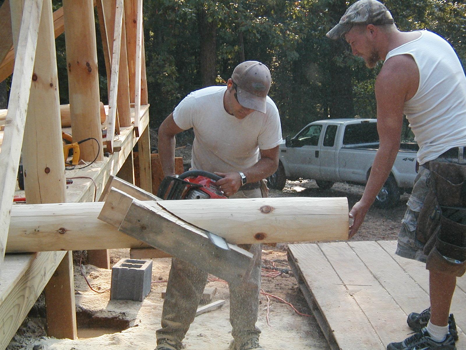 Cutting 6x6 with a Chain Saw ?-p9140032.jpg
