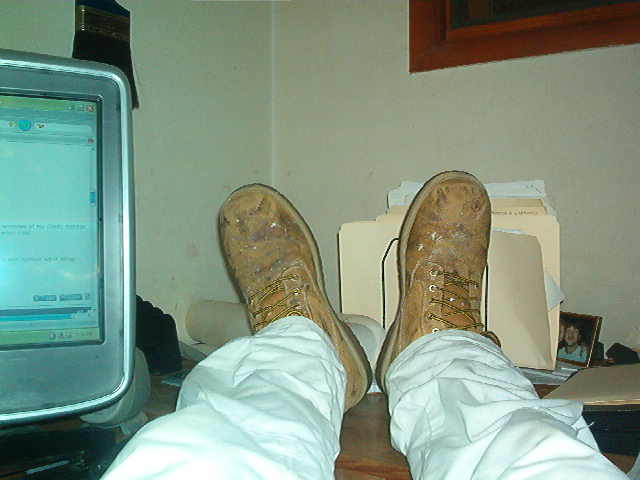 Painters wear boots and you gotta believe me-painterswearboots.jpg