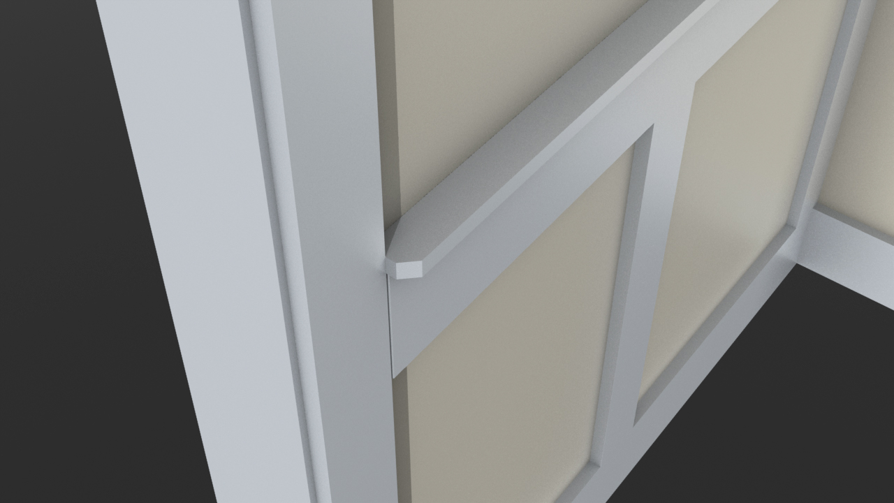 Wainscoting to 1x4 casing transition-panel-cap.jpg & Wainscoting To 1x4 Casing Transition - Page 3 - Finish Carpentry ...