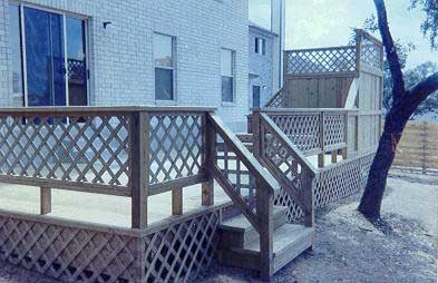 Sq Ft Price For Lattice Skirt On Raised Addition Decks