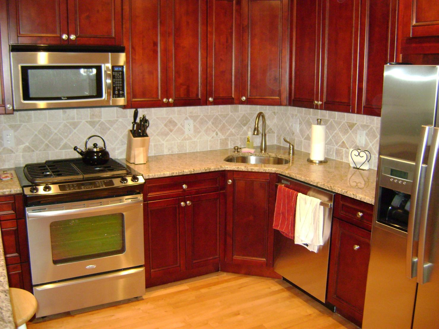 Condo remodel remodeling picture post contractor talk for Tiny kitchen remodel