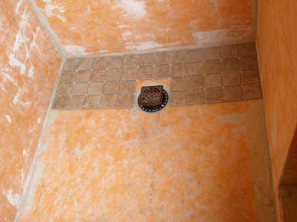 First At The Kerdi Shower System Tiling Contractor Talk
