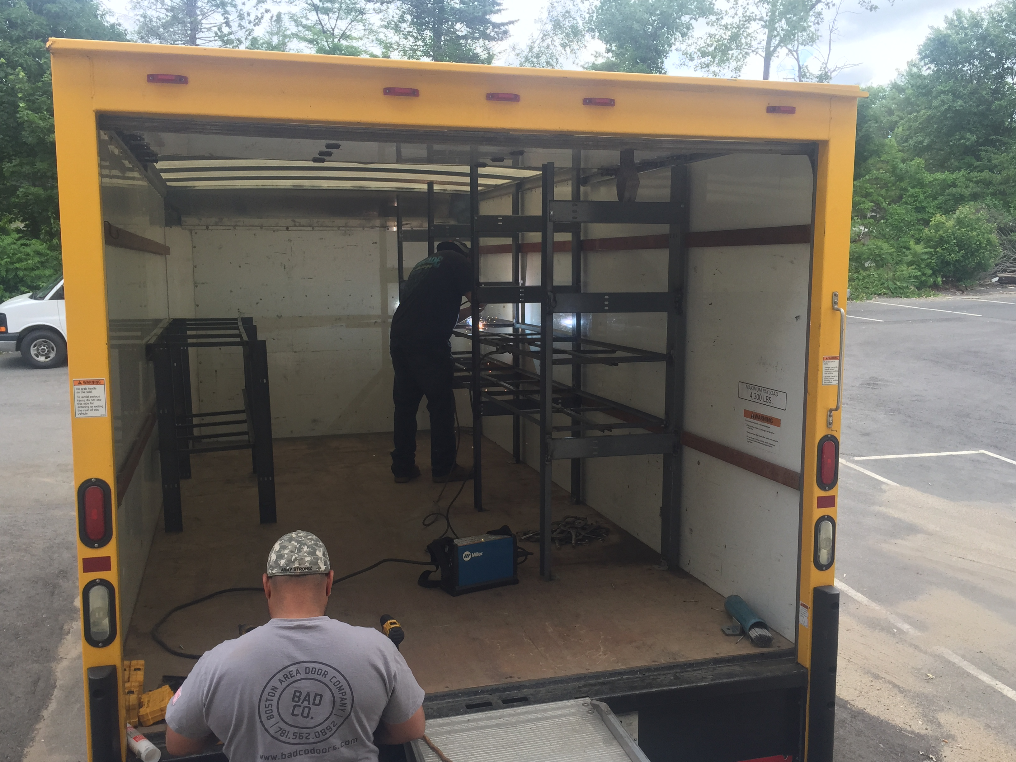 Anyone ever buy a used penske box truck page 2 - Commercial van interiors locations ...