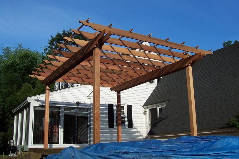 Pergola Tails Page 2 Decks Amp Fencing Contractor Talk