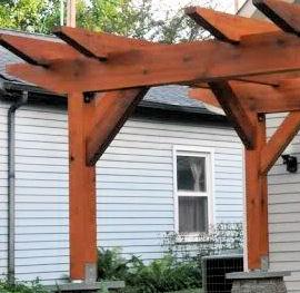 Setting Posts For A Pergola Decks Amp Fencing Contractor