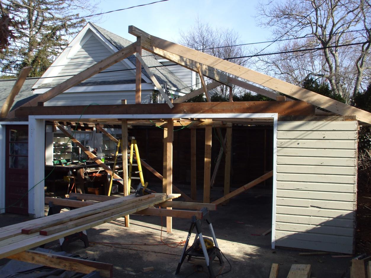 Garage Rafters Upgrade Architecture Amp Design