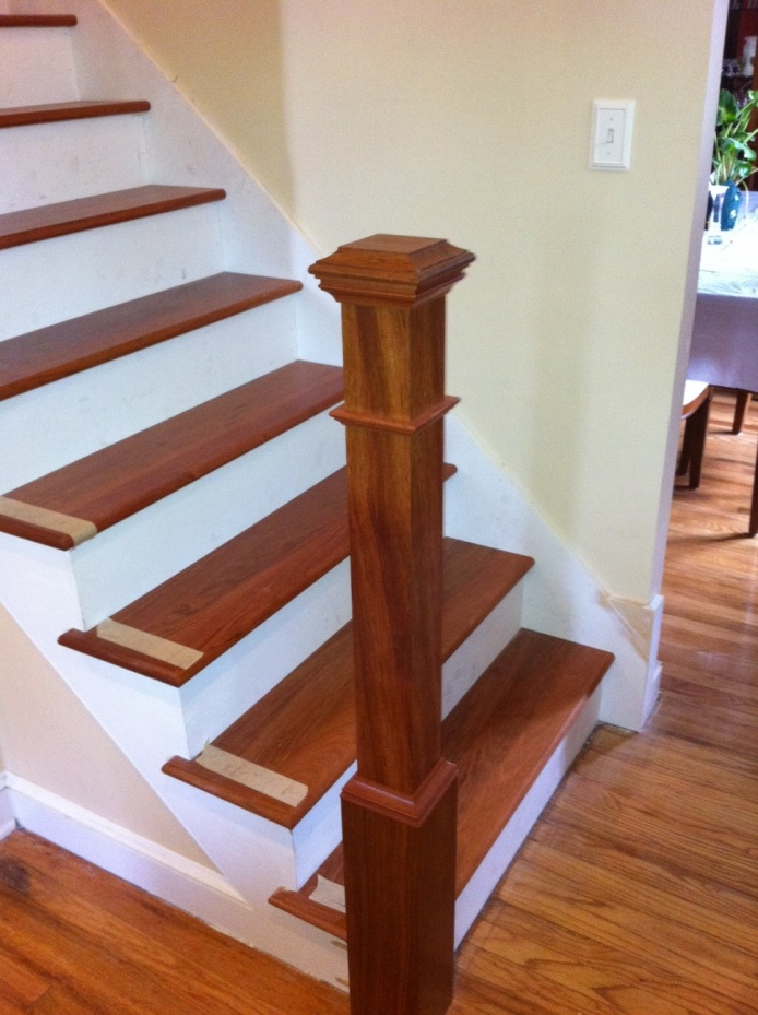 Finished Stairs Photo  Holy Cow....an Indoor Project!