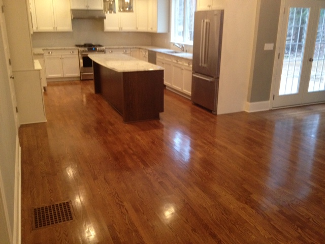 2 1 4 Quot Select White Oak Stained Flooring Picture Post