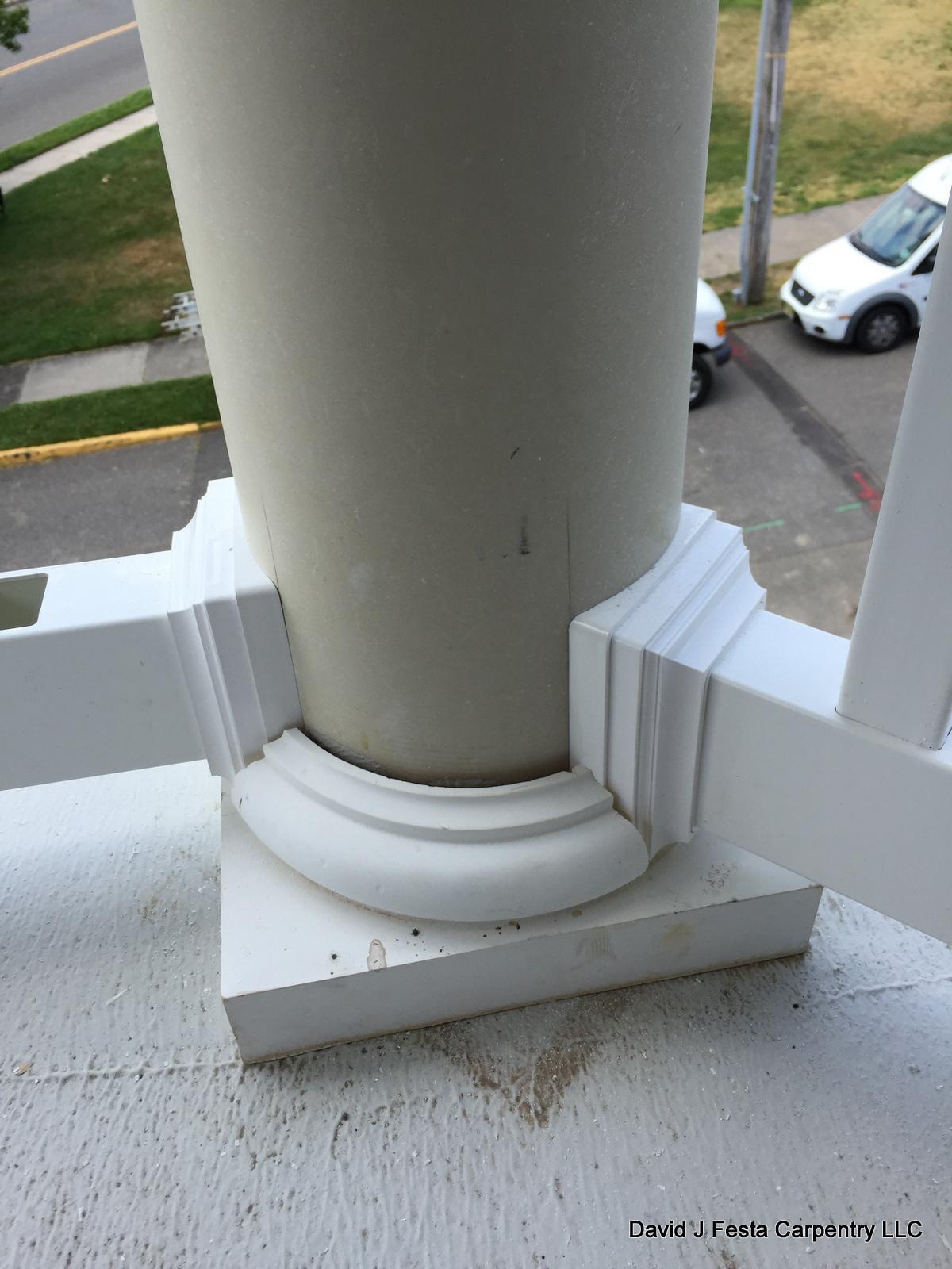 Wolf Railing Universal Round Column Adapter Decks