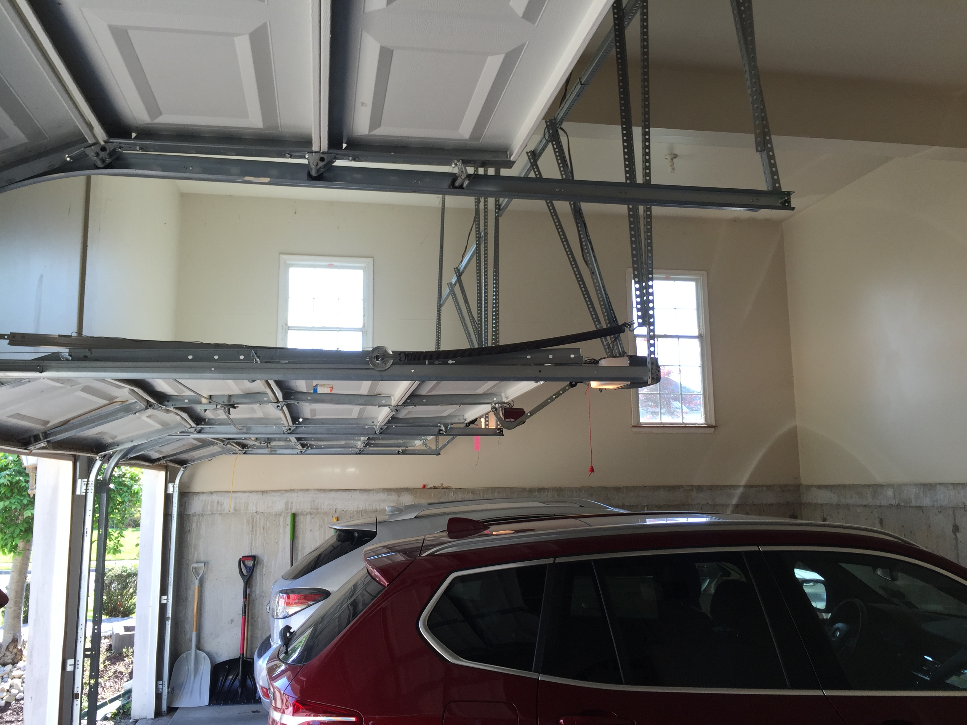 Minimum Ceiling Height For Garage Door
