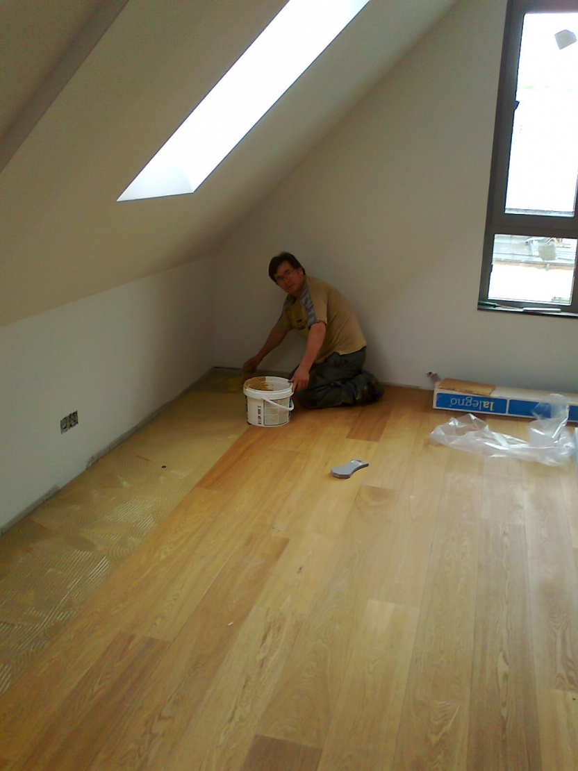 Glue Down Wood Flooring On Concrete - Flooring - Contractor Talk