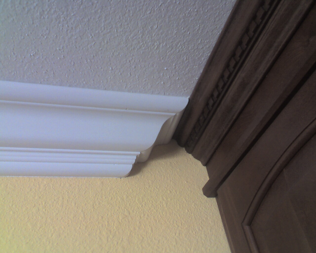 Joining 2 Different Crown Moldings Finish Carpentry