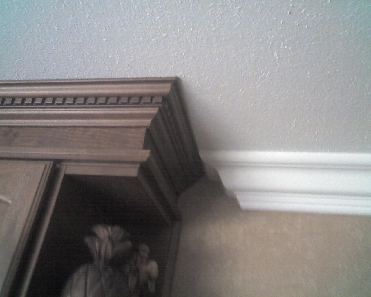 Joining 2 Different Crown Moldings Finish Carpentry Contractor Talk