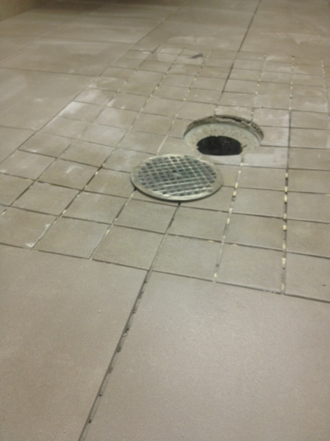 Tile Around A Floor Drain Tiling Contractor Talk