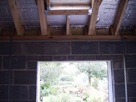 Roof Rafters Floor Joists Wood To Mortar Contact