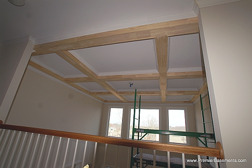 Do It Yourself Home Design: Coffered Ceiling Pics