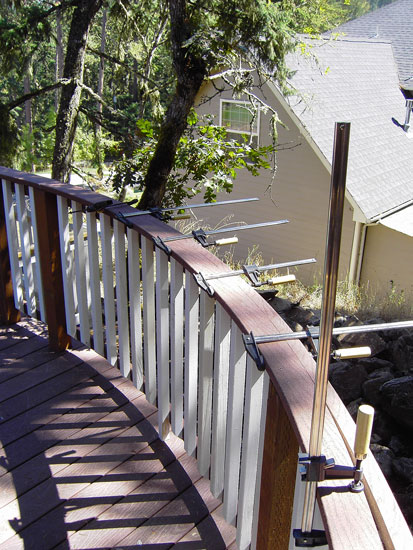 Deck Boards Bending Composite Deck Boards