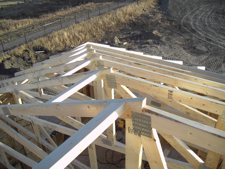 Hip roof trusses the image kid has it for Truss roof system