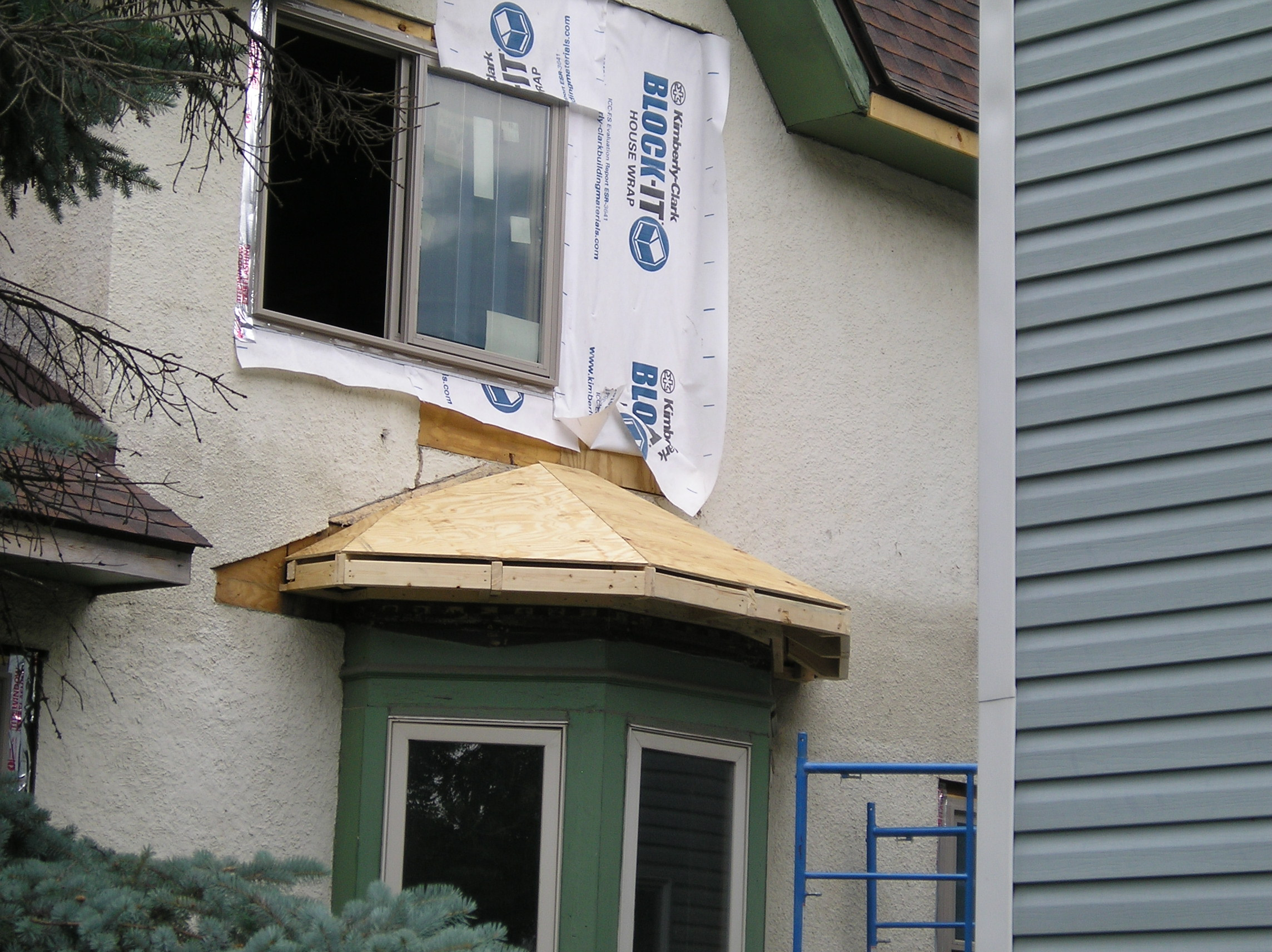 Bay Window Framing : Roof framer s bible framing a bay window page