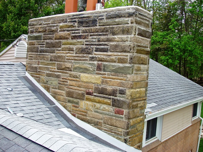 Flashing Around A Chimney Page 6 Roofing Contractor Talk