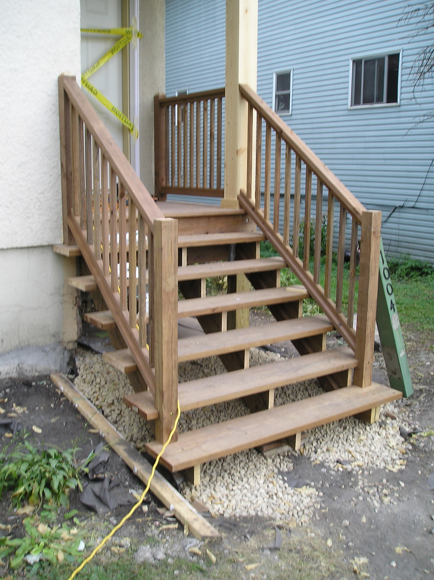 Is it ok to toe screws some newel posts?-picture.jpg