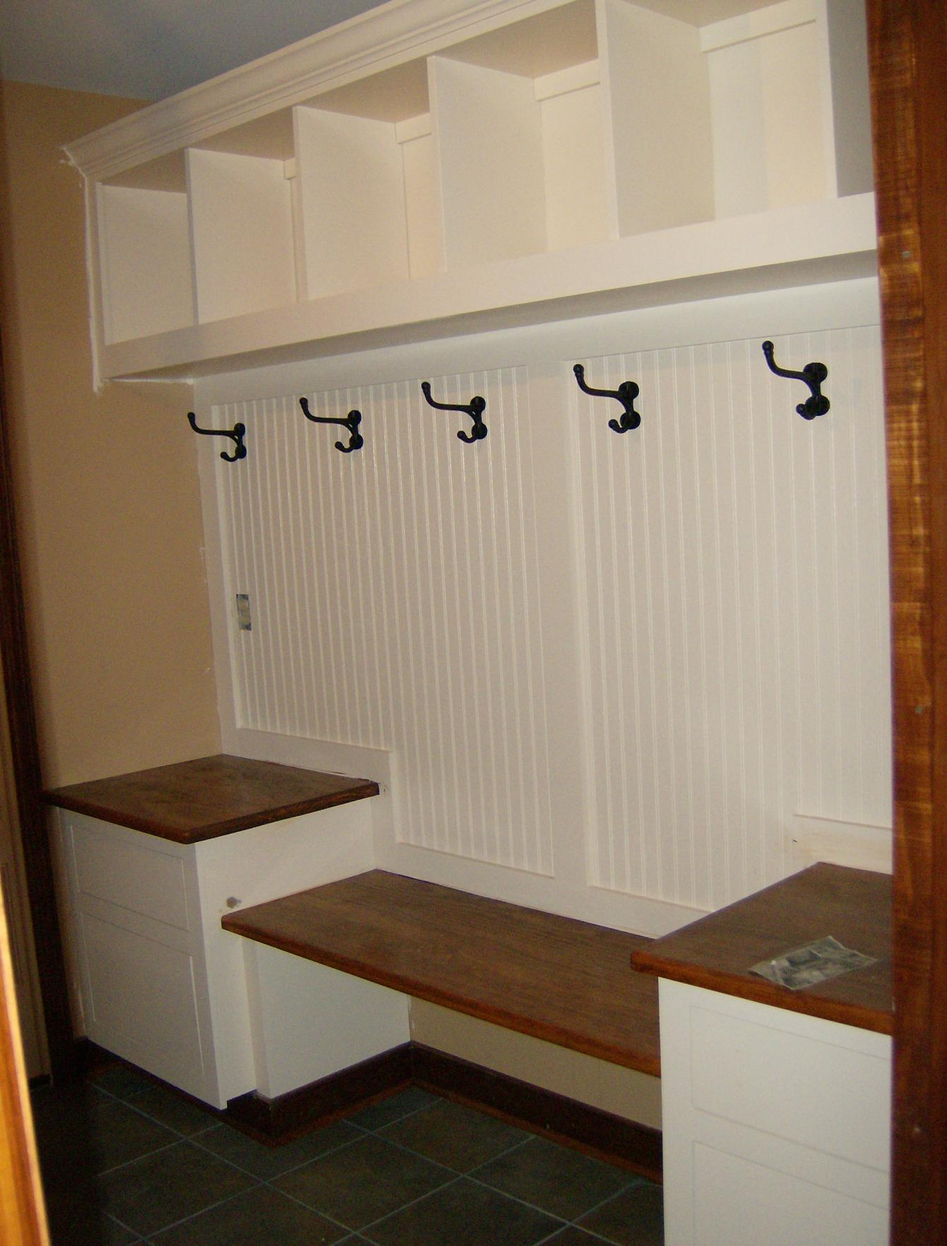 Mudroom Built-In - Finish Carpentry - Contractor Talk