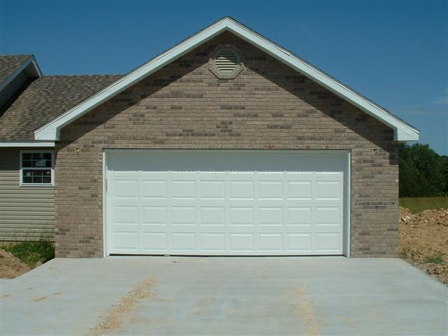 Garage door height boat talk chaparral boats owners club for Wood veneer garage doors