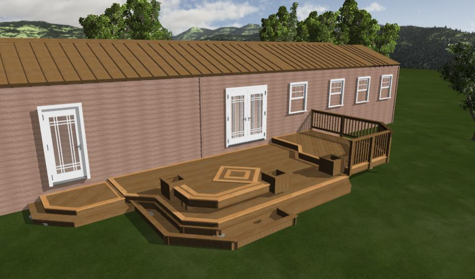 Fun deck decks fencing contractor talk for House plans with decks