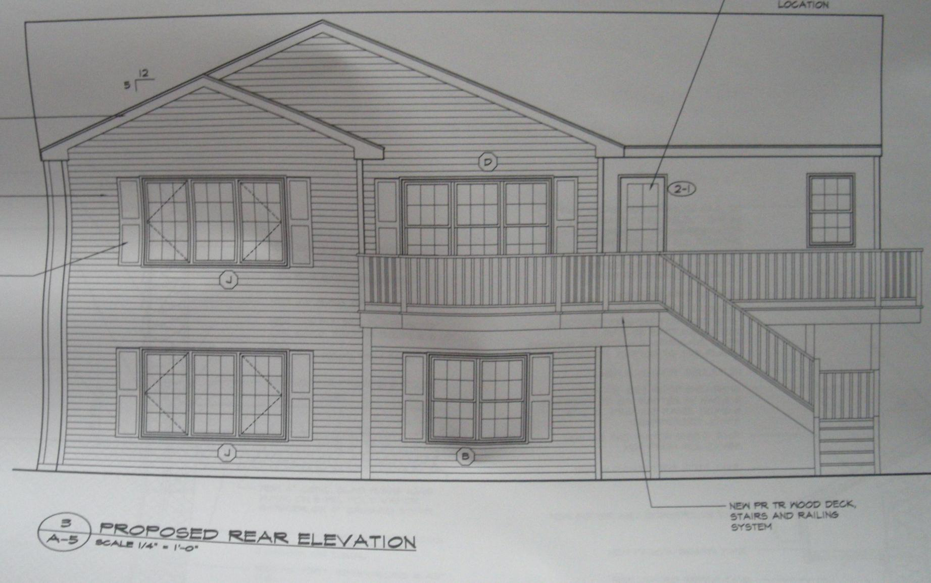 CookeCarpentry s Personal Home Addition Remodel plans 004 jpg. CookeCarpentry s Personal Home Addition Remodel   Construction