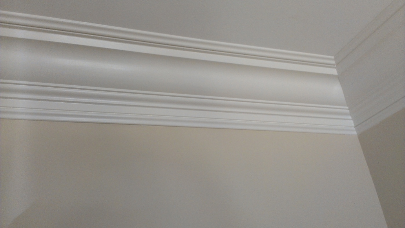 Crown Molding On Concrete Ceiling Plaster Coverage Jpg