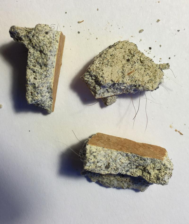 Identifying asbestos in plaster general discussion for Gypsum board asbestos