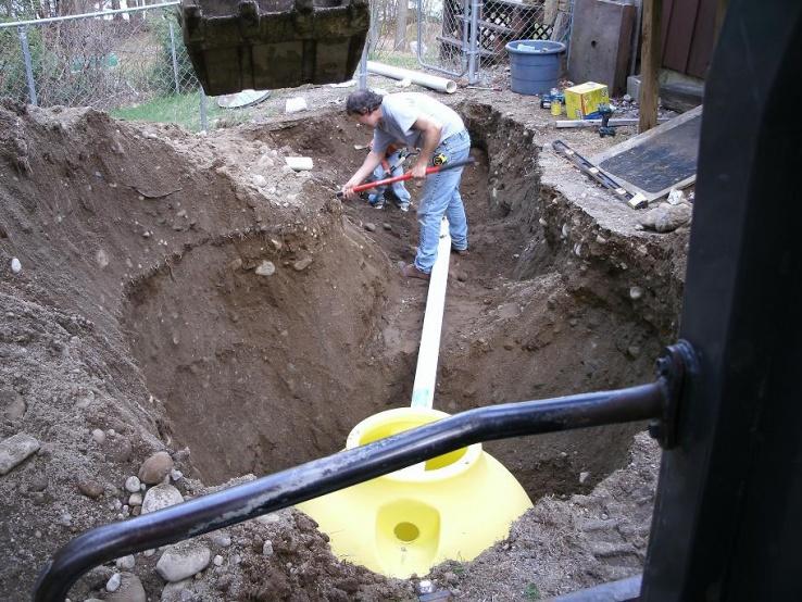 Plastic Septic Tanks Excavation Amp Site Work Contractor