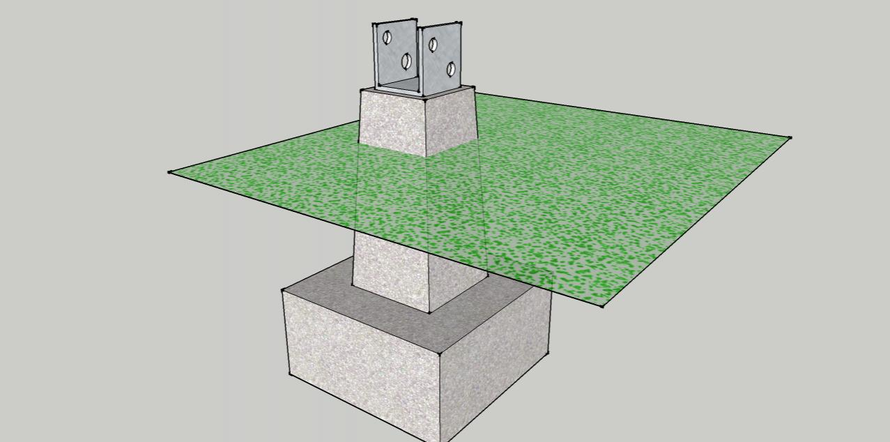 Post Base Jpg Should Deck Posts Sunk In Concrete Or Above Ground 1