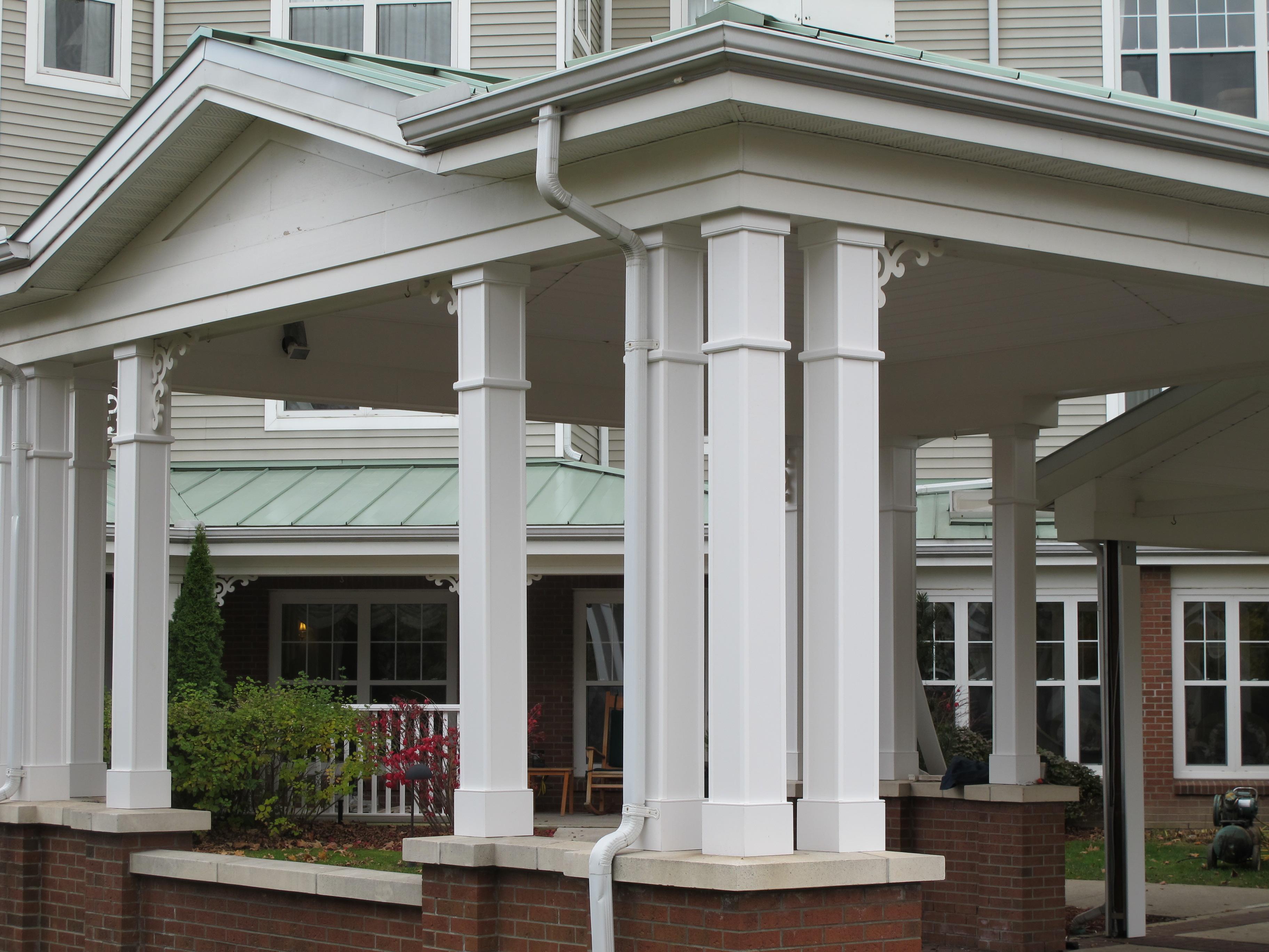 """Get 6"""" x 6"""" porch posts off the concrete-pvc-columns-001.jpg"""