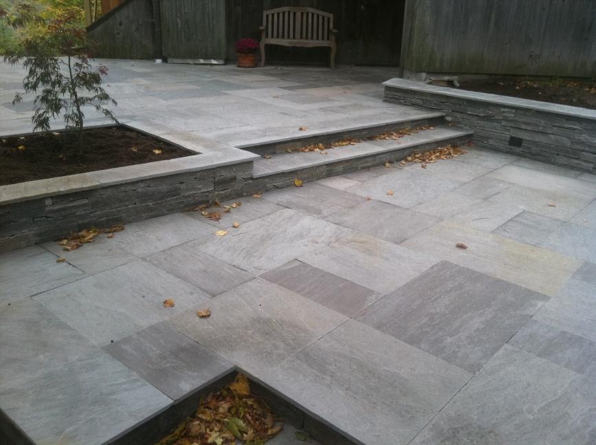 Quartzitic Sandstone Patio - Landscaping - Contractor Talk